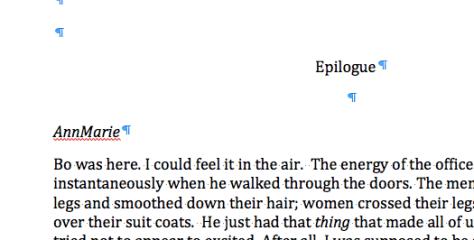 Excerpt of Epilogue